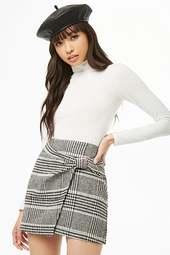 Glen Plaid Mini Skirt