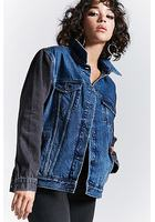 Colorblock Denim Jacket