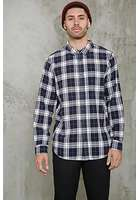 Fitted Plaid Flannel Shirt