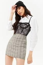 Glen Check Mini Skirt