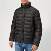 Tommy Jeans Men's Essential Field Jacket - Tommy Black - M - Black