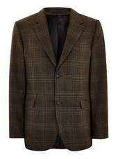 Premium Brown Check Blazer
