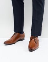 Zapatos Derby De Cuero En Color Tostado Peair De Ted Baker