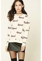 Squad Print Sweatshirt