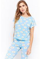 Egg Print Pajama Set