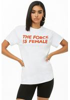 The Style Club The Force Is Female Graphic Tee
