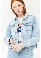 Button-front Denim Jacket