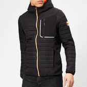 Superdry Men's Convection Hybrid Jacket - Black - S - Black