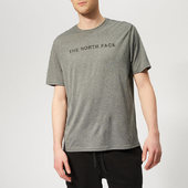 The North Face Men's Train N Logo Short Sleeve T-shirt - Medium Grey Heather - M