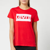 Levi's Women's The Perfect T-shirt - Brilliant Red - Xs - Red
