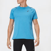 Asics Men's Icon Short Sleeve Top - Race Blue/peacoat - S - Blue
