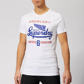 Superdry Men's Limited Icarus T-shirt - Optic - S - White