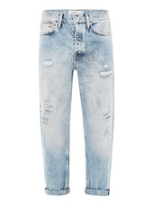 Blue Ripped Original Jeans