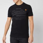 Superdry Men's Premium Goods Tonal T-shirt - Black - S