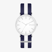 Montecarlo Gunmetal Navy / White