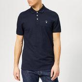 Ted Baker Men's Vardy Polo Shirt - Navy - 2/s - Blue