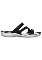 Crocs Sandal Women Black / White Swiftwater
