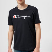 Champion Men's Logo T-shirt - Navy - S