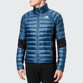 The North Face Men's Crimptastic Hybrid Jacket - Shady Blue/vintage White - Xl - Blue