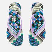 Havaianas Women's Slim Tribal Flip Flops - Apple Green - Eu 35-36/uk 3-4 - Multi