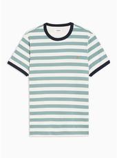 Farah Stripe Ringer T-shirt*