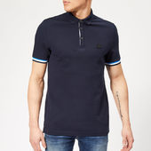 Boss Men's Printcat Polo Shirt - Navy - S - Blue