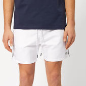 Boss Men's Starfish Swim Shorts - White - S - White