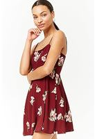 Floral Cami Mini Dress