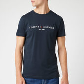 Tommy Hilfiger Men's Tommy Logo T-shirt - Sky Captain - S - Blue