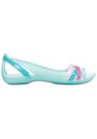 Crocs Flat Women New Mint/oyster Crocs Isabella Huarache Ii S
