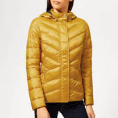Barbour Women's Seaward Quilted Coat - Canary Yellow - Uk 8 - Yellow