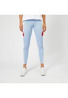 Puma Women's Retro Rib Leggings - Cerulean - S/uk 10 - Blue