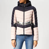 Superdry Women's Offshore Chevron Fuji Jacket - Navy Mix - Xs - Blue