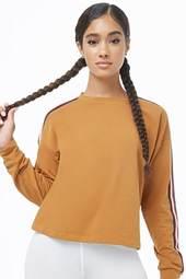 Striped-trim Sweatshirt