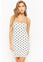 Polka-dot Bodycon Dress