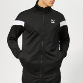 Puma Men's Iconic Mcs Track Jacket - Puma Black - S - Black