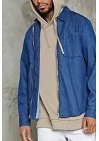 Denim Zippered Shirt