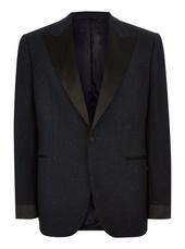 Charlie Casely-hayford X Topman Navy Textured Dinner Jacket