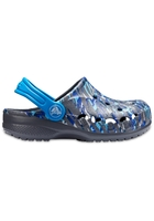 Crocs Clog Unisex Charcoal Baya Graphic