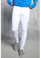 Slash Distressed Slim-fit Jeans