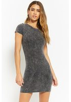 Mineral Wash Bodycon Dress