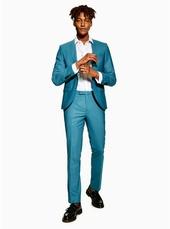 Twisted Tailor Light Blue 'ellroy' Blazer