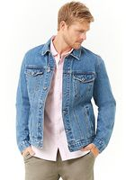 Faded Wash Denim Jacket
