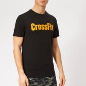 Reebok Men's Crossfit F.e.f. Short Sleeve T-shirt - Black - M - Black