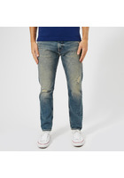Tommy Jeans Men's Modern Tapered Jeans - Davie Dirt Blue Rigid - W30/l32 - Blue