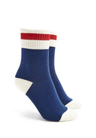 Varsity Striped Crew Socks