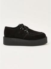 Black Wedge 'colt' Derby Shoes