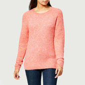 Joules Women's Sorcha Tie Neck Jumper - Apricot - Uk 6 - Orange