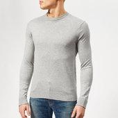 Armani Exchange Men's Cotton Cashmere Knit - Alloy Heather - S - Grey