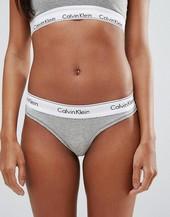 Tanga Moderno De Algodón De Calvin Klein